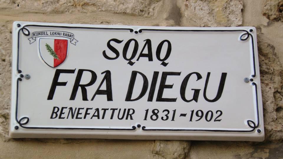 Sqaq Fra Diegu - Plakka